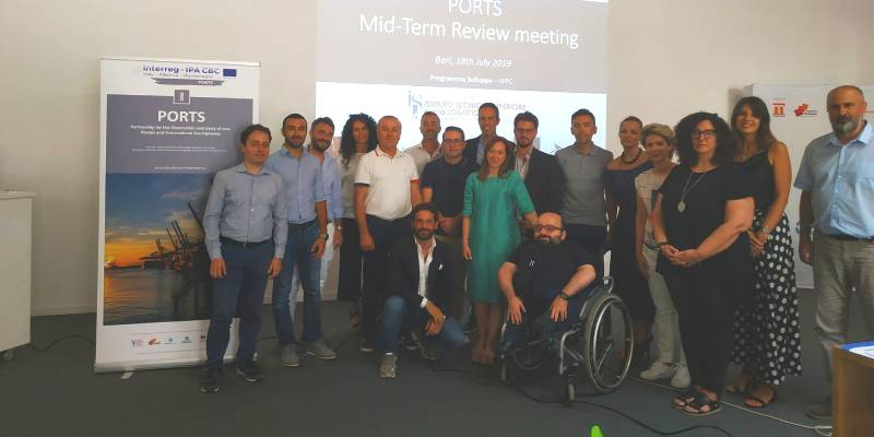 ports mid term review in bari